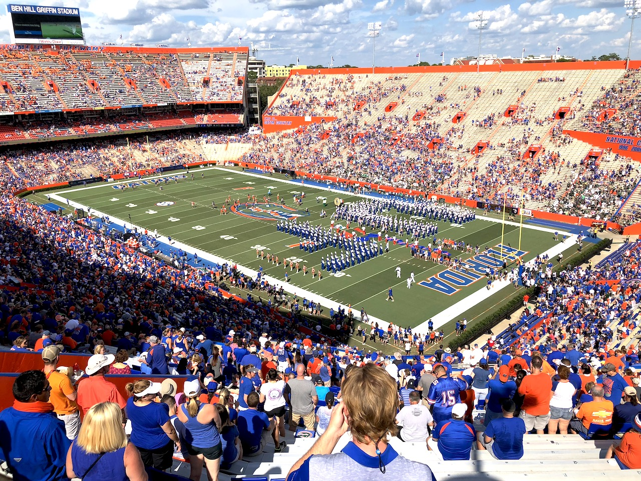 UF Sports - 2-day itinerary for families in Gainesville, FL #gainesville #florida #tourofflorida #alachuacounty #gainesvilleFL #universityofflorida #UF #gogators #Gainesvillewithkids #gainesvilleitinerary