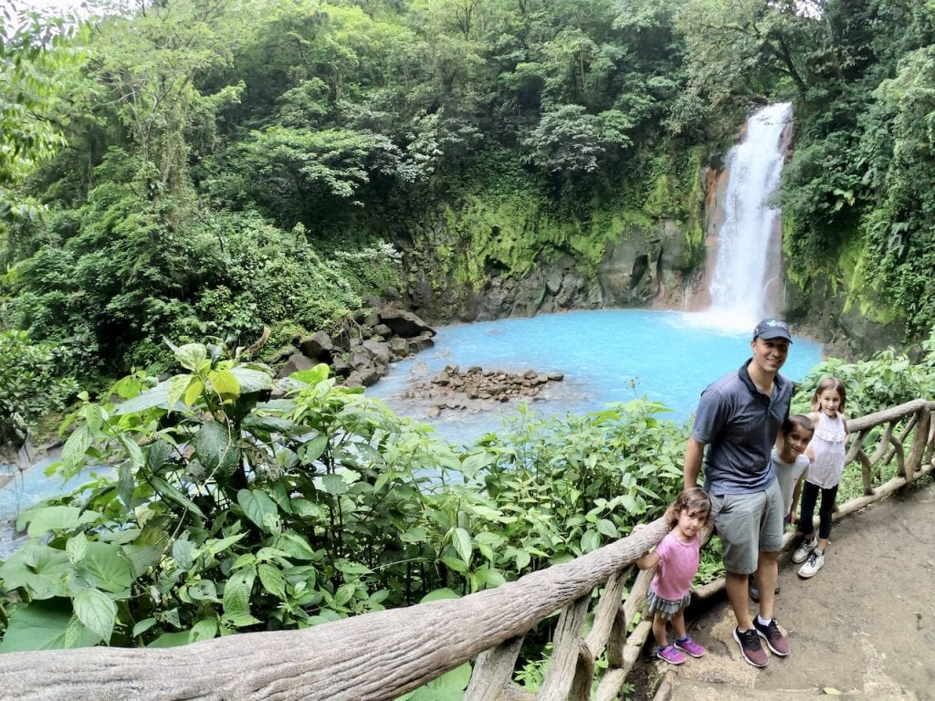 Parque Nacional Volcàn Tenorio With Kids - Costa Rica Report | Costa Rica with kids | Hiking with kids | Costa Rica volcano | Rio Celeste | Family travel blog | #costarica #visitcostarica #costaricawithkids #volcanotenorio #volcantenorio #familytravel #familytravelblog #centralamerica
