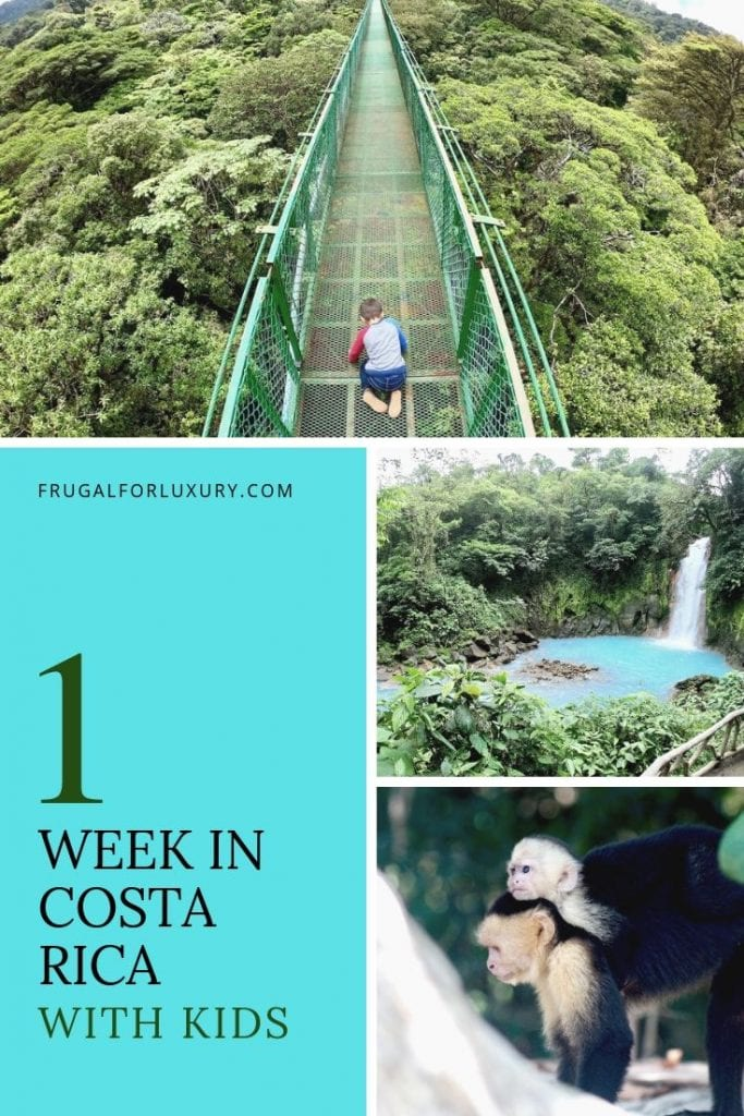 1 Week in Costa Rica With Kids | Family Travel | Costa Rica travel | Costa Rica tips with children | Zip Lining with Kids in Costa Rica | #CostaRica #CostaRicawithkids #familytravel #costaricatips