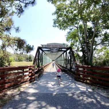 Biking The West Orange Trail with Kids