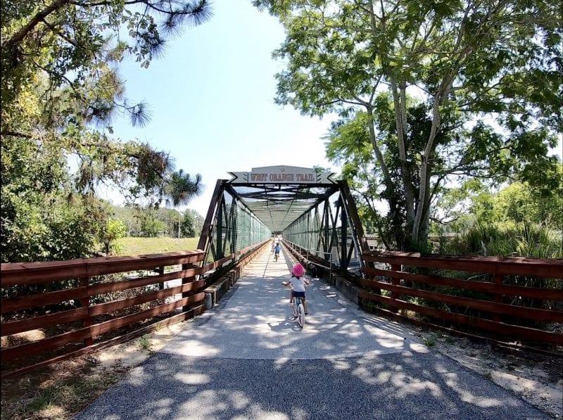 Biking The West Orange Trail with Kids