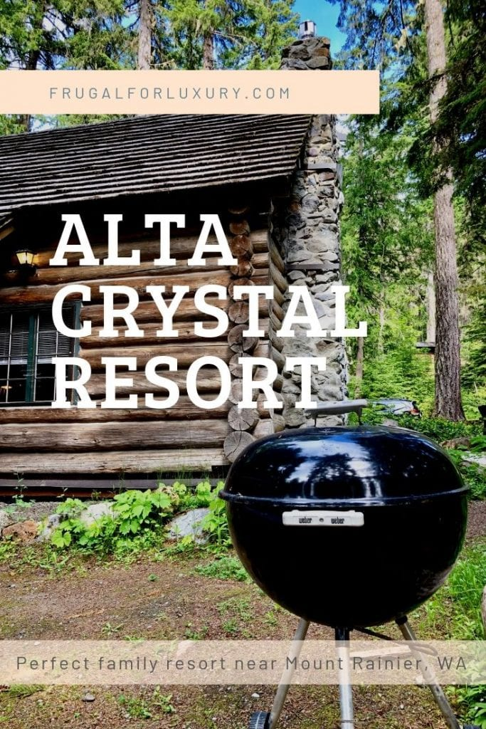 Alta Crystal Resort - Perfect Family Getaway Near Mount Rainier | Family friendly resort in Washington | National Parks | Log Cabin Resort | Crystal Mountain | Mountain resort | #altacrystalresort #mountrainier #WA #familyresort