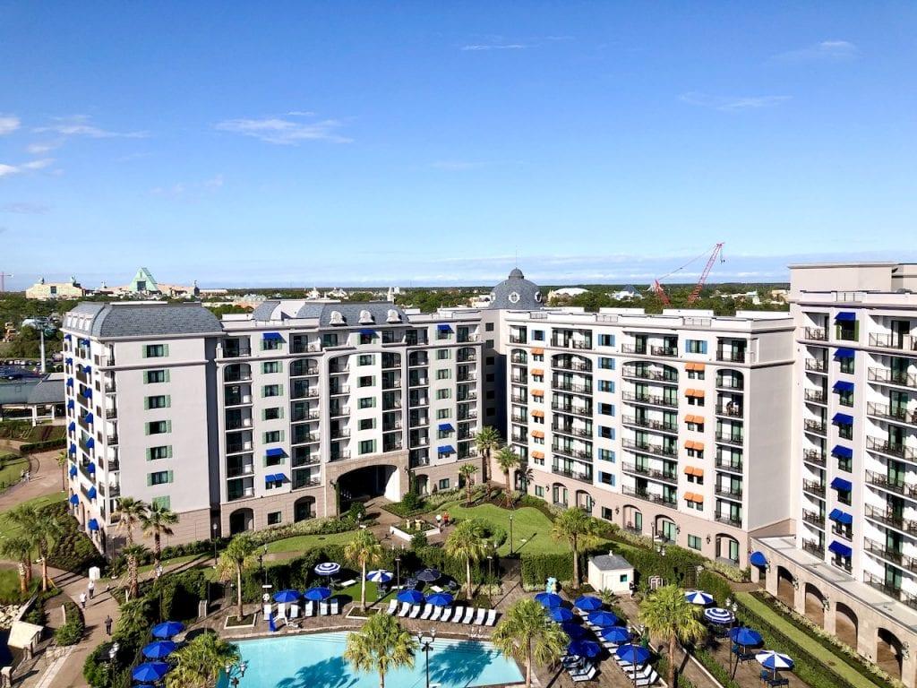 Disney's Riviera Resort - A Photo And Video Tour | Disney Vacation Club's Newest Resort | Skyliner | Disney Resort | Disney News | Disney Mom | Walt Disney World | #disneysrivieraresort #disneyhotels #disneyresorts #DVC #DVCresorts #disneypools