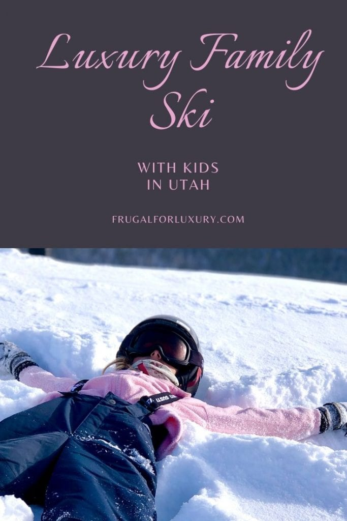 10 Reasons Why Utah Should Be On Your Family's Ski Bucket List | You Should Consider Utah For Your Next Luxury Family Ski Vacation | Ski in Utah with kids | Luxury ski resorts | Deer Valley Resort | Park City Mountain | Best family ski in the US | Skiing with kids | Utah ski with kids | Family ski vacation | #luxuryski #luxuryfamilytravel #skiutah #skiingwithkids #familytravelblog #familytravel