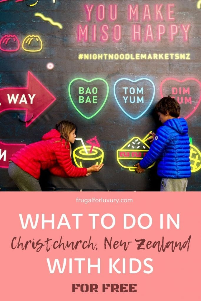 What To Do In Christchurch, New Zealand With Kids | Free things to do with kids in Christchurch, New Zealand | Christchurch travel | New Zealand with kids | New Zealand Travel | Family Travel | International travel with kids | #christchurch #christchurchnz #christchurchwithkids #newzealandtravel #visitchristchurch #visitnz #visitnewzealand #fulltimetravel #worldtour #familytravel #travelingfamily