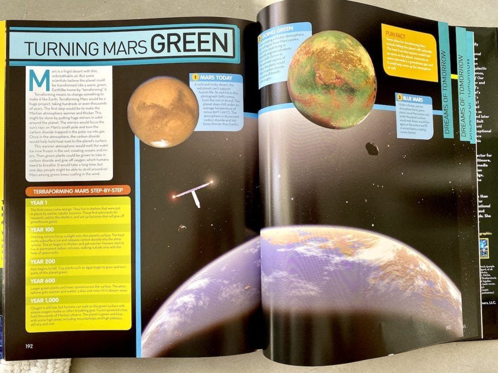 national geographic kids space
