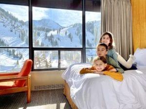 Family vacation at Alta Lodge