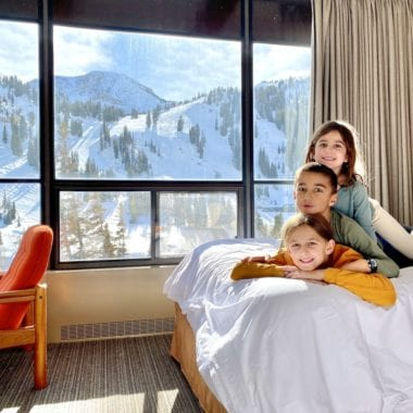 Family vacation at Alta Lodge