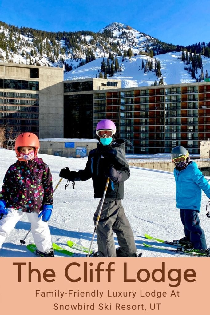 The Cliff Lodge - Family-Friendly Luxury Lodge At Snowbird Ski Resort, UT | The Cliff Lodge Snowbird | Where to stay with kids at Snowbird | Kid-friendly accommodation at Snowbird | Skiing Snowbird with kids | #snowbird #clifflodge #clifflodgesnowbird #familyfriendlyhotel #skiutah