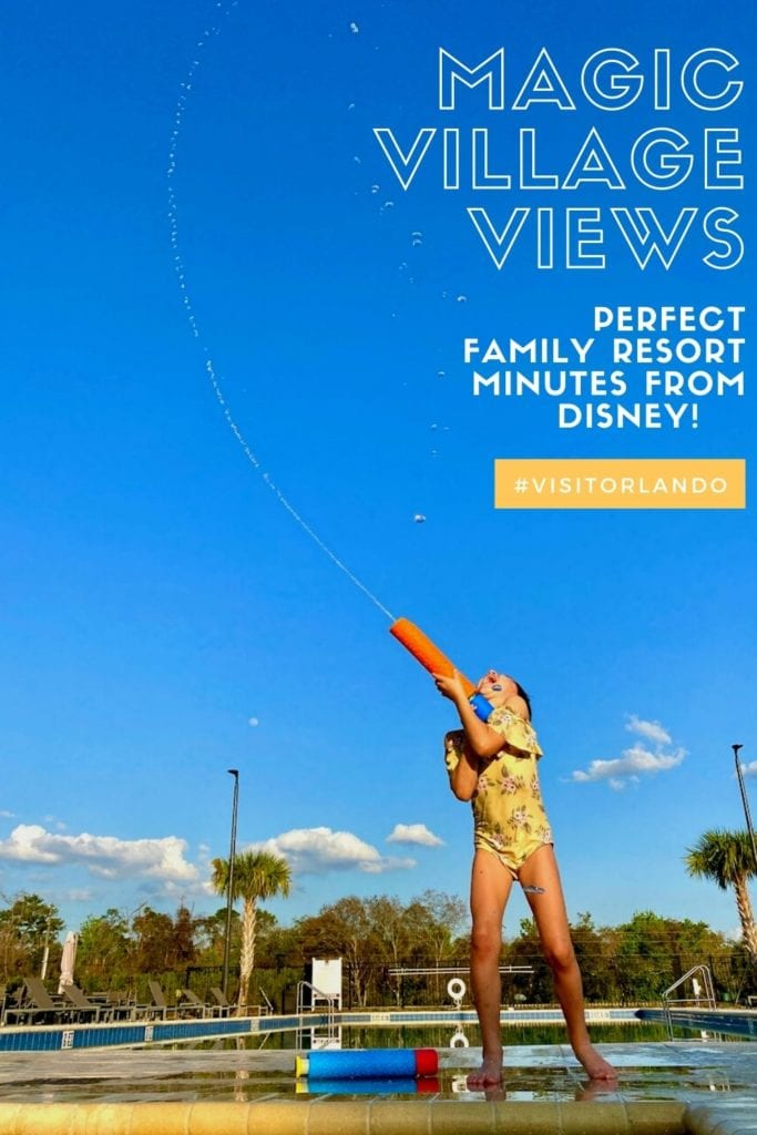 Magic Village Views - Family-Friendly Resort Near Disney | 3 and 4-bedroom villas for rent near Disney | Full kitchen, free wifi, free parking, pools, hot tubs, washer and dryer in Orlando | One of the most family-friendly resorts in Orlando, FL | Visit Orlando | Where to stay in Orlando with kids | #hosted #magicvillageviews #familyfriendly #orlandoresorts #wheretostayinorlando #orlandowithkids