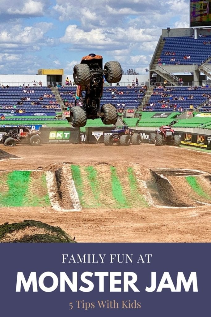 Family Fun At Monster Jam - 5 Tips With Kids | Monster trucks | Scooby Doo Truck | Kids monster truck show | Monster Jam trucks | Monster Jam 2021 | Monster Jam Orlando | #monsterjam #monstertrucks #monsterjam2021 #familytravel #traveltips