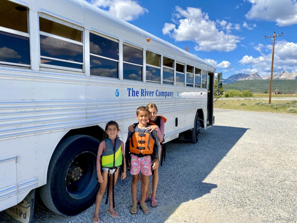 White Water Rafting Idaho With Kids - With The River Company | Best white water rafting in Idaho with kids | Standley, ID | White water rafting near Sun Valley, ID | visit iadho with kids | #stanley #sunvalley #iadhotravel #idahowithkids #whitewaterrafting