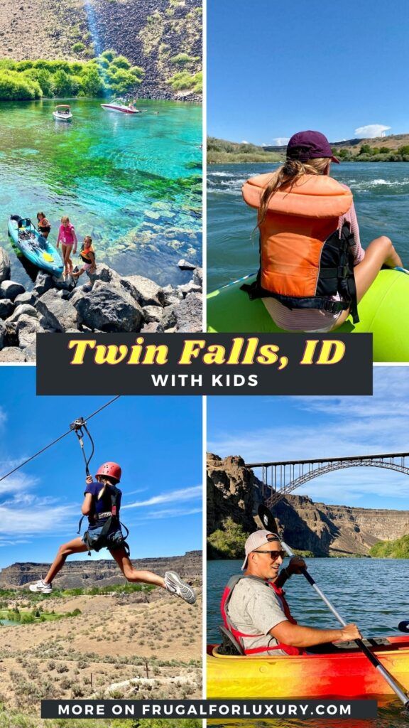 What To Do In Twin Falls, ID - 10 Awesome Southern Idaho Activities With Kids | White water rafting trip on the Snake River | Hagerman, ID | Banbury Hot Springs | Visit Southern Idaho | #twinfalls #visitidaho #visitsouthernidaho #snakeriver #whitewaterrafting #twinfallswithkids #familytravel #idahowithkids