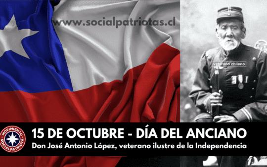 15 de Octubre – Día Nacional del Anciano