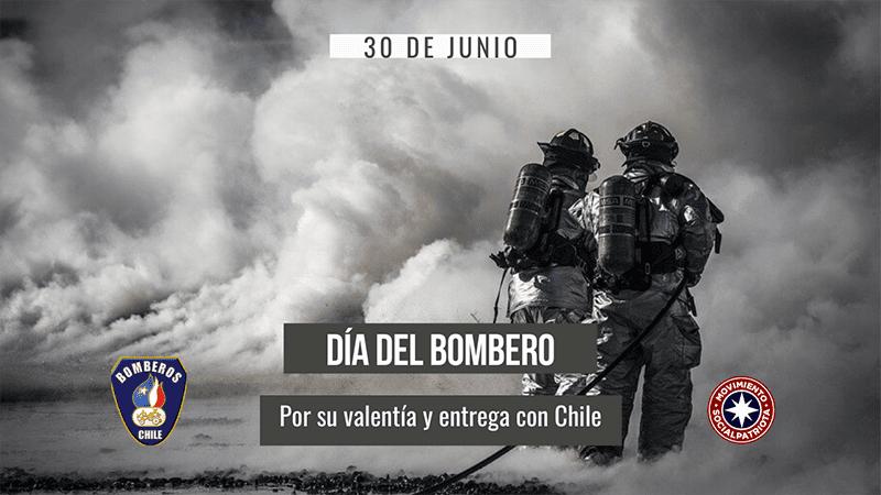 30 de Junio, Día del bombero y su valor