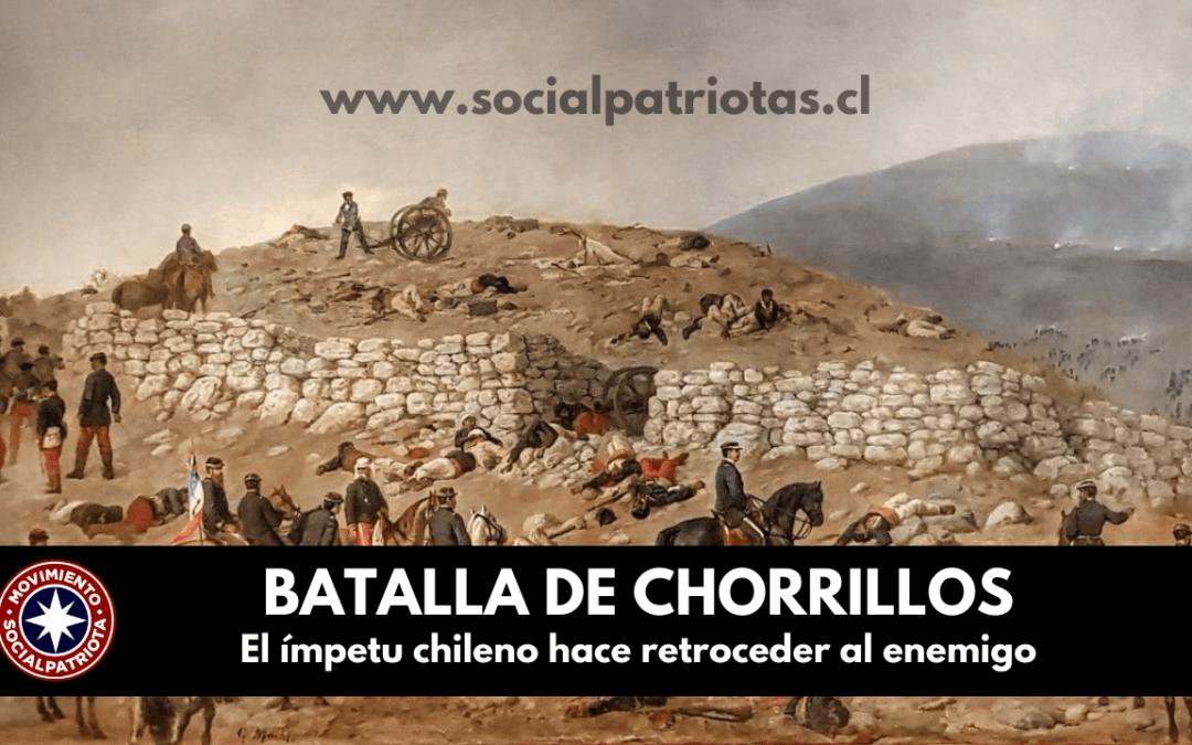 13 de Enero. Batalla de Chorrillos