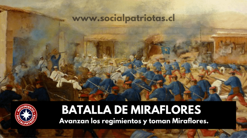 15 de Enero. Batalla de Miraflores