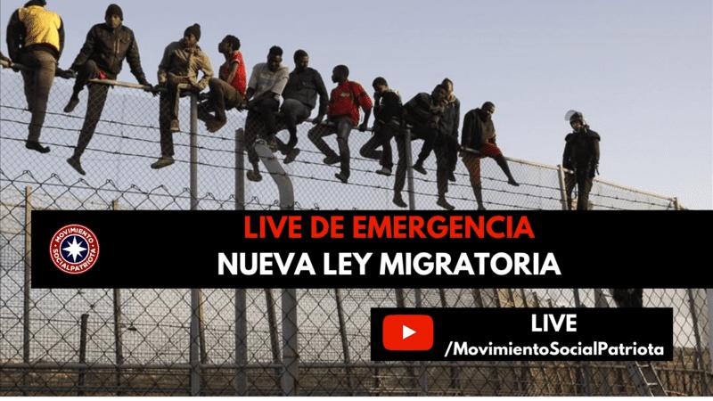 Nueva Ley migratoria Chile