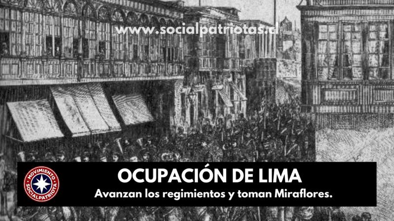 17 de Enero. Ocupación de Lima