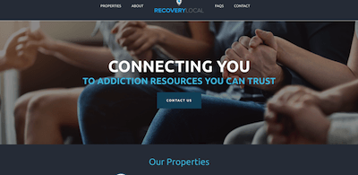 Recovery Local Home Page