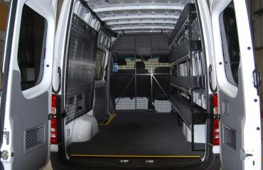 VQuip - Van Transforming Vehicles | Service Van - Custom Shelving