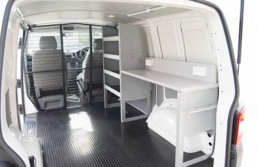 VQuip - Van Transforming Vehicles | Service Van - Workbench