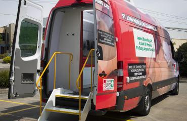 VQuip - Transforming Van Vehicles | St John - Training Van