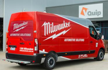 VQuip - Transforming Van Vehicles | Milwaukee Tools - Service Van