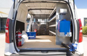 VQuip - Transforming Van Vehicles | Dormakaba - Service Van