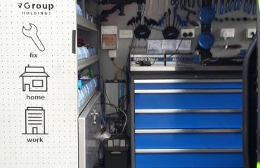 VQuip - Transforming Van Vehicles | Bikefix - Service Van