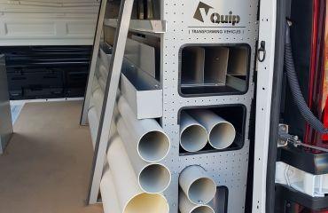 VQuip - Transforming Van Vehicles | Fire Rental Solutions - Custom Shelving