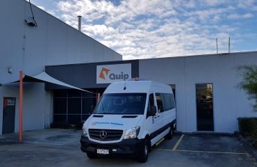VQuip - Transforming Van Vehicles | Fulton Hogan - Service Crew Vehicle