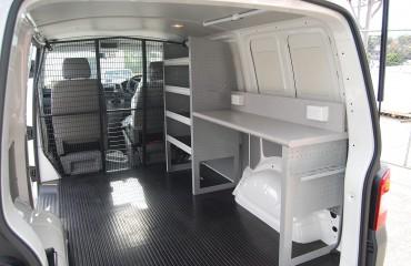 VQuip - Transforming Van Vehicles | Service Van - Workbench
