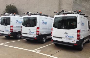 VQuip - Transforming Van Vehicles | Linktech - Fibre Optic Service Van