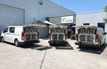 VQuip - Transforming Vehicles | Lost Dogs Home Animal Transport Van - Img3