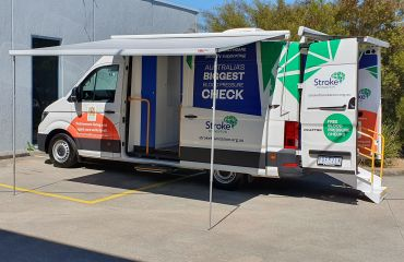 VQuip - Transforming Vehicles | Stroke Foundation Health Check Van - Img1
