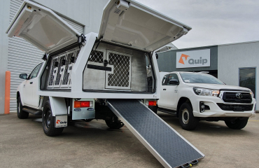 Vquip – Transforming Vehicles | Lost Dogs Home – Animal Transport Service Body & Fitout
