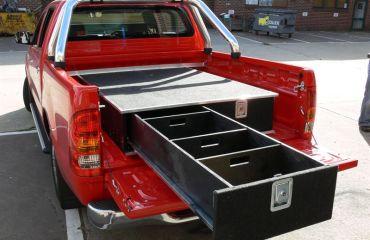 VQuip - Transforming Vehicles l Tradie Van - Custom Drawers