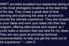 John E Testimonial