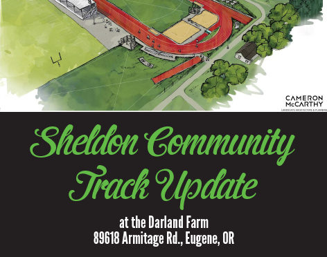 Sheldon Community Track Receives $90,000 commitment from 4J!