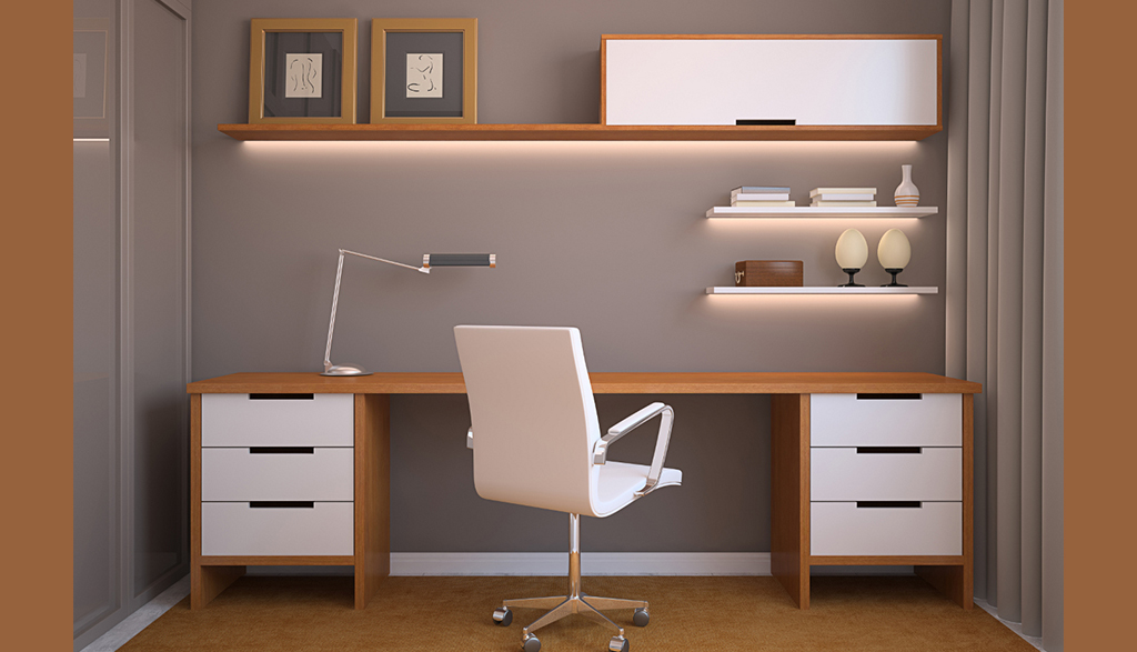 Add an office area in your house