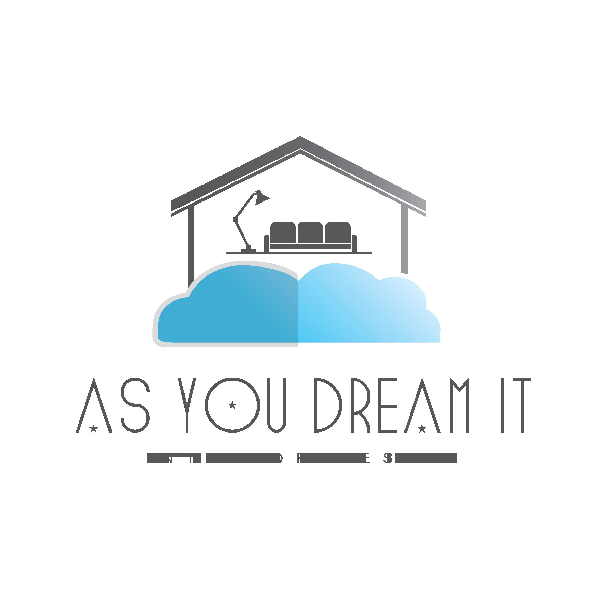 Logo As You Dream It en ingles