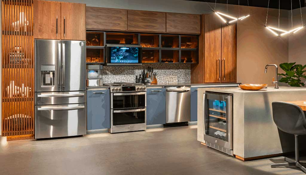 GE Profile ™ a smart look at kitchens