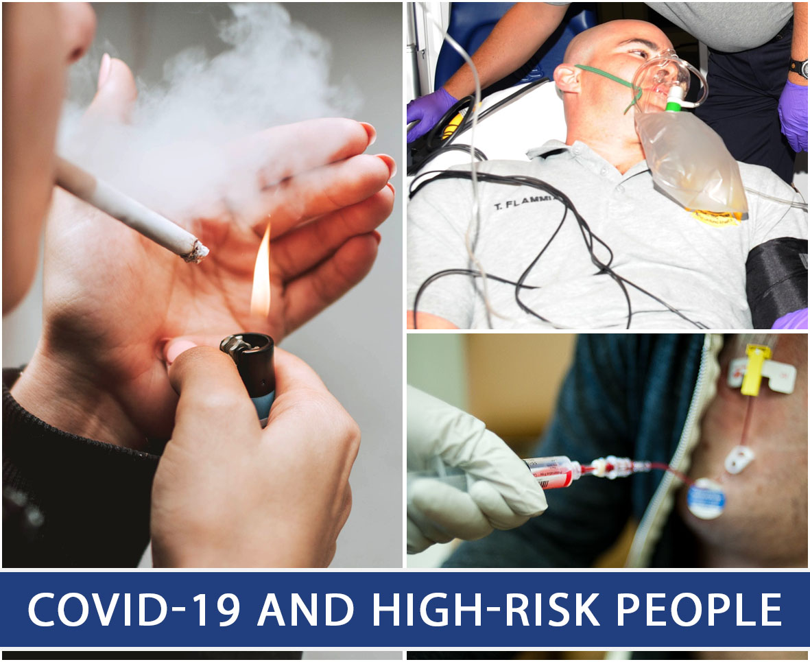 COVID-19 and High-Risk People