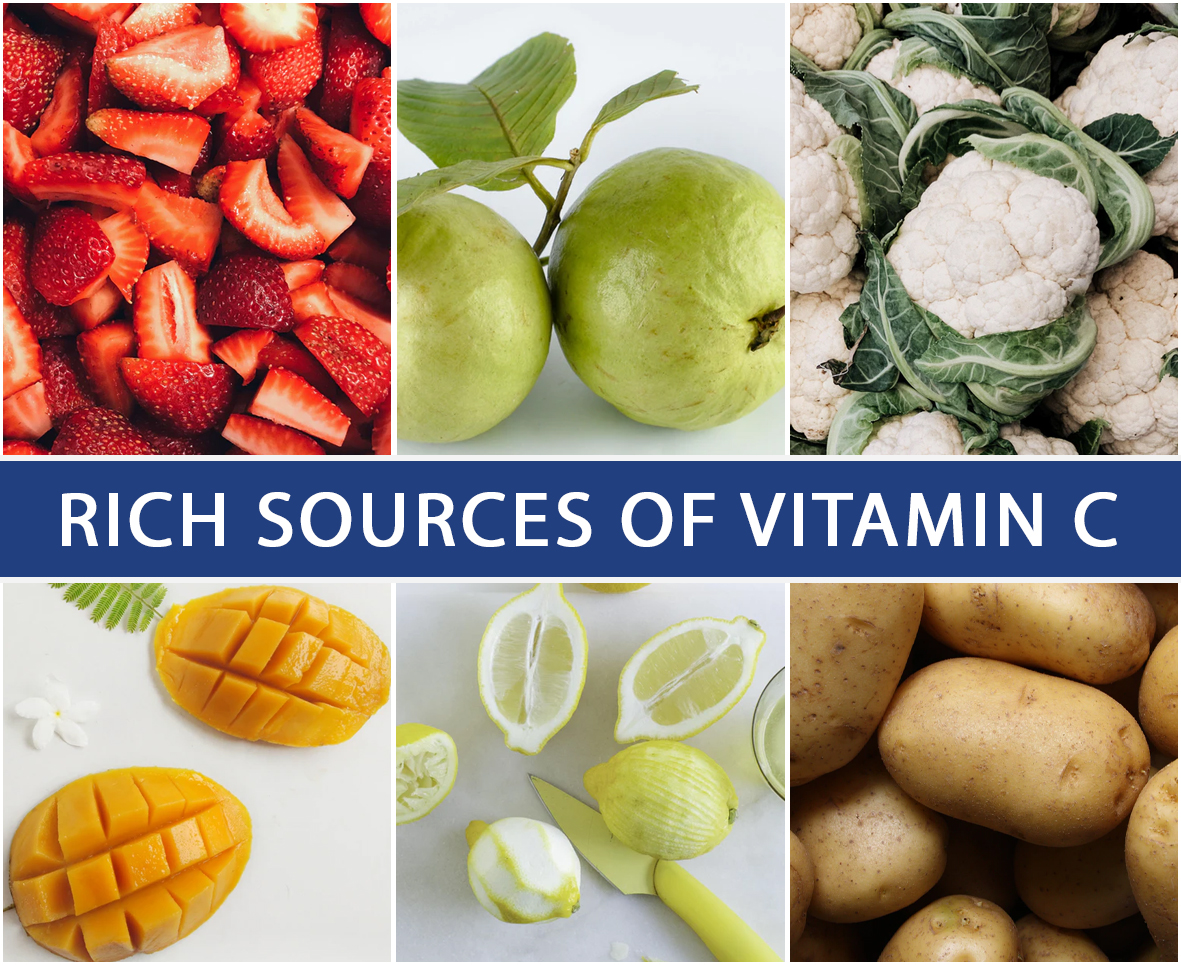 Rich Sources of Vitamin C
