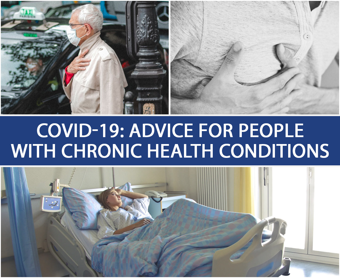 COVID-19 Advice For People With Chronic Health Conditions