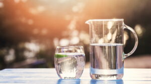 Water to stay hydrated