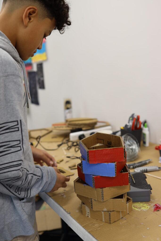 Lampshades making