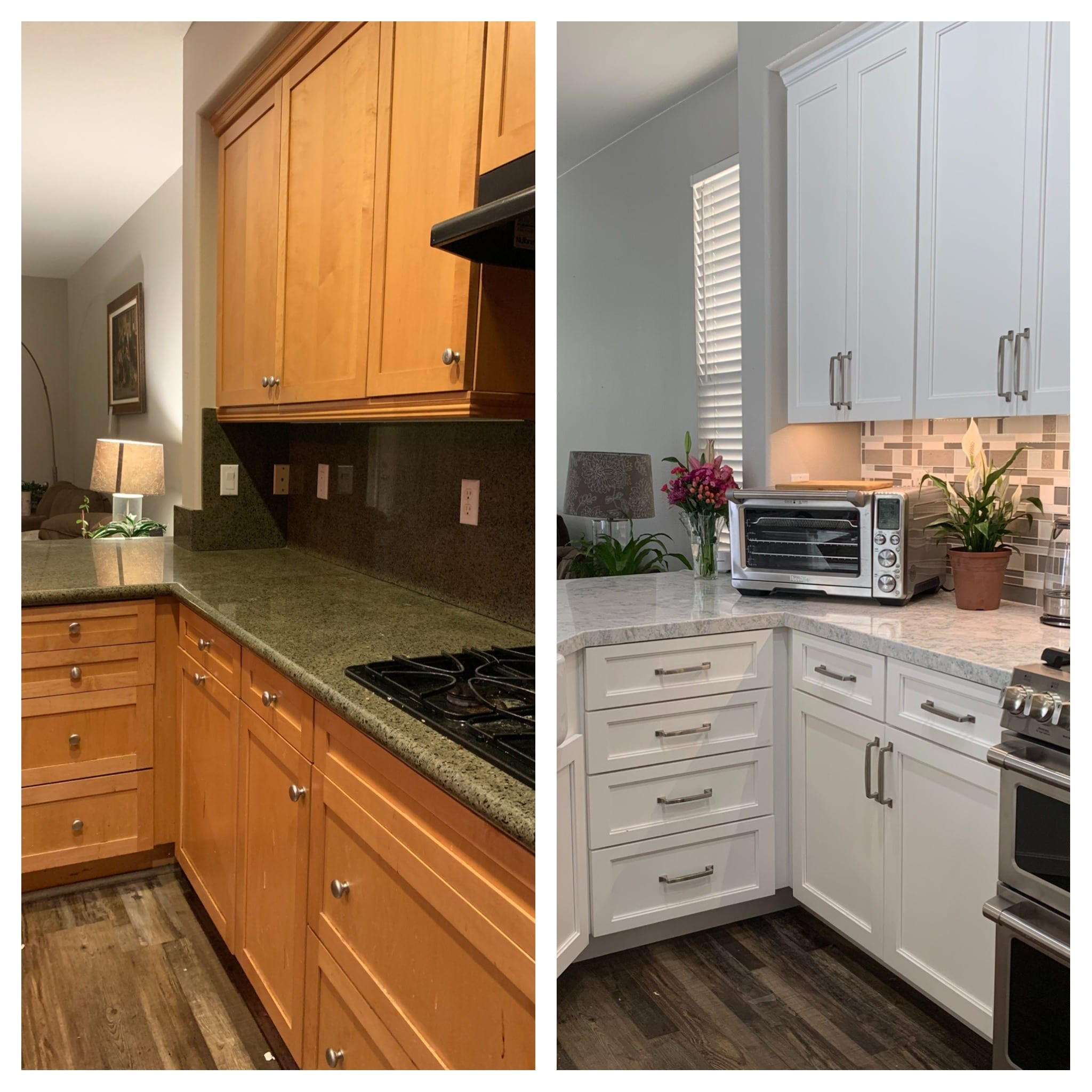 Baker's Kitchen BEFORE & AFTER