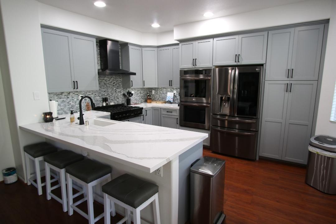 Bedell's New Kitchen